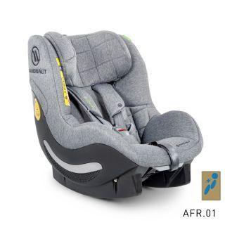 Avionaut AeroFIX RWF SOFT LINE scaun auto 0-18kg iSize - AF.01 Gray-Melange