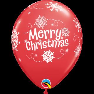 Baloane latex  Merry Christmas