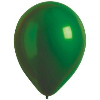 Baloane latex 11/28 cm Emerald- Satin Luxe Chrome, Radar