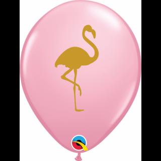 Baloane latex 28 cm Flamingo - Pink, Qualatex