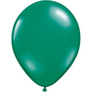 "Baloane latex 11""/28cm Emerald Green, Qualatex 43744"