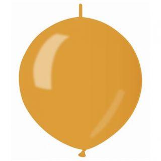 Baloane latex Cony sidefate 33 cm, Auriu 39, Gemar