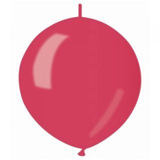 Baloane latex Cony sidefate 33 cm, Rosu 53, Gemar