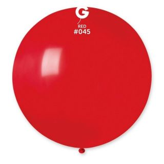 Baloane Latex Jumbo 100 cm, Rosu 45, Gemar G40.45