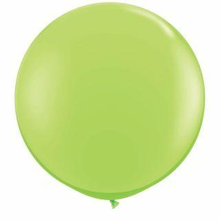 Baloane latex Jumbo 3 ft Lime Green, Qualatex 43660, 1 buc