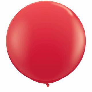 Baloane latex Jumbo 3 ft Red, Qualatex 42554, 1 buc