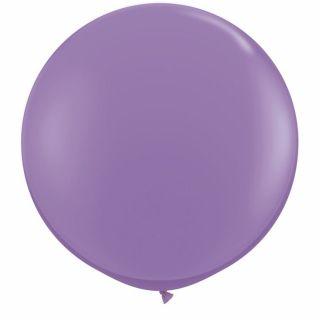 Baloane latex Jumbo 3 ft Spring Lilac, Qualatex 43656, 1 buc