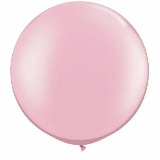 "Baloane latex Jumbo 30"" Pearl Pink, Qualatex 39761, 1 buc"