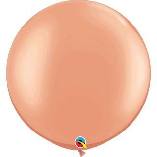 "Baloane latex Jumbo 30"" Rose Gold, Qualatex 57344, 1 buc"