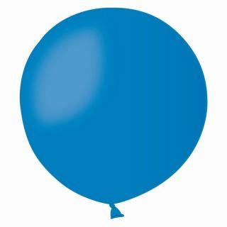 Baloane Latex Jumbo 80 cm, Albastru, Gemar G30.10