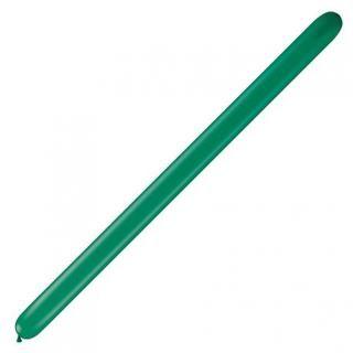 "Baloane Latex Modelaj Emerald Green, 2"" x 60"", Qualatex"
