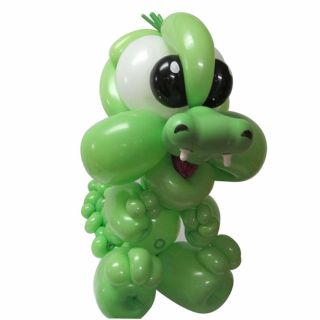 "Baloane Latex Modelaj Green, 2"" x 60"", Qualatex 79698, set 100 buc"
