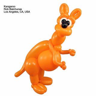 "Baloane Latex Modelaj Orange, 2"" x 60"", Qualatex 260 79701, set 100 buc"