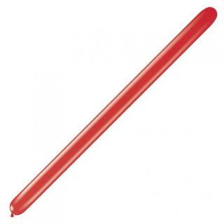 "Baloane Latex Modelaj Pearl Ruby Red, 2"" x 60"", Qualatex 260 22943, set 100 buc"