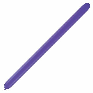 "Baloane Latex Modelaj Purple Violet, 2"" x 60"", Qualatex 260 82707, set 100 buc"