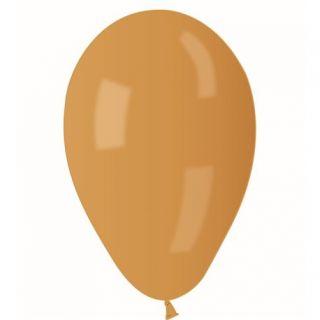 Baloane latex sidefate 21 cm culoare auriu, Gemar