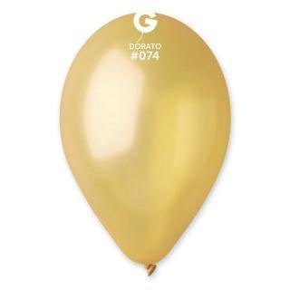 Baloane latex sidefate 26 cm, Dorato 74, Gemar
