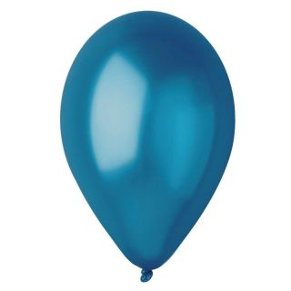 Baloane latex sidefate 30 cm, Albastru 54, Gemar
