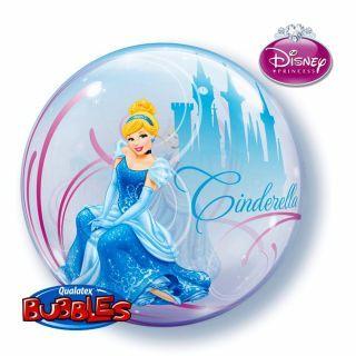 """Balon Bubble 22""""/56cm Cenusareasa, Qualatex"""