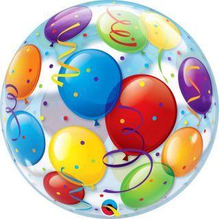 "Balon Bubble 22""/56 cm, Baloane, Qualatex"