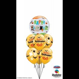 "Balon Bubble 22""/56 cm Halloween Fun Font, Qualatex"