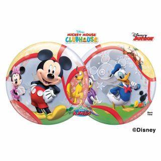 "Balon Bubble 22""/56cm Mickey Mouse Club, Qualatex"