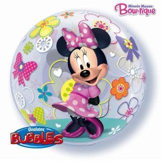 """Balon Bubble 22""""/56cm Minnie Mouse, Qualatex"""
