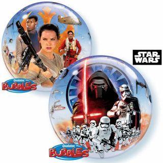 "Balon Bubble 22""/56cm Star Wars, Qualatex"