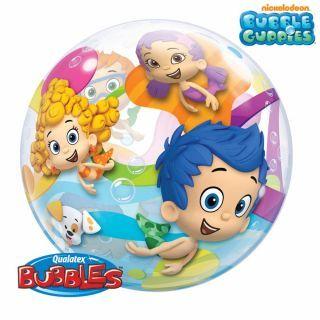 "Balon Bubble 22""/56cm Qualatex, Bubble Guppies"
