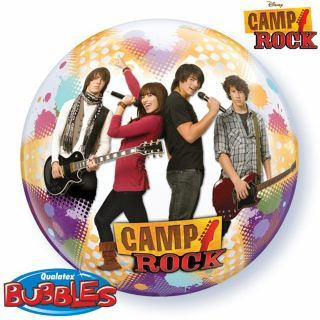 "Balon Bubble 22""/56cm Qualatex, Camp Rock"
