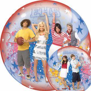 """Balon Bubble 22""""/56cm Qualatex, High School Musical"""
