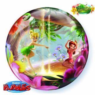"Balon Bubble 22""/56cm Qualatex, Tinkerbell"