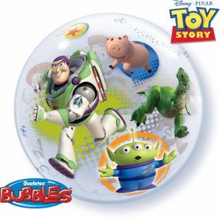 "Balon Bubble 22""/56cm Qualatex, Toy Story"