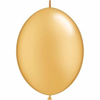 Balon Cony Gold 12 inch (30 cm), Qualatex