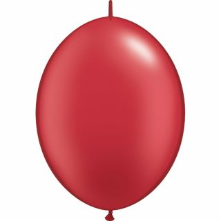 Balon Cony Pearl Ruby Red 12 inch (30 cm), Qualatex