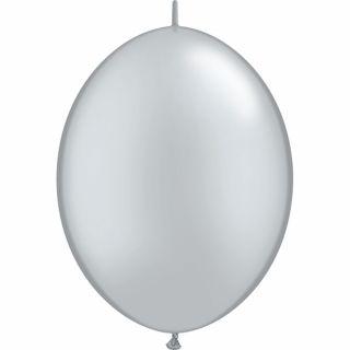 Balon Cony Silver 12 inch (30 cm), Qualatex