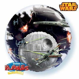 "Balon Double Bubble 24""/61cm Star Wars, Qualatex 21320"