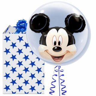 "Balon Double Bubble 24""/61cm Qualatex, Mickey Mouse, Qualatex"