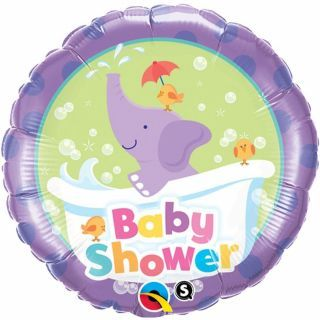 Balon Folie 45 cm Baby Shower, Qualatex 13912