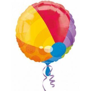 Balon Folie 45 cm Beach Ball, Amscan