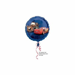Balon folie 45 cm Cars, Amscan