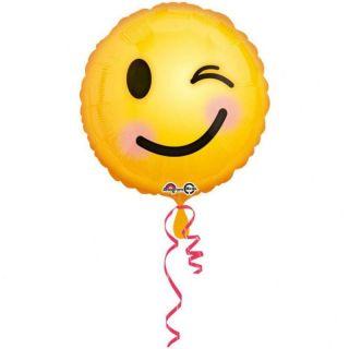 Balon folie 45 cm Emoticon Smiley