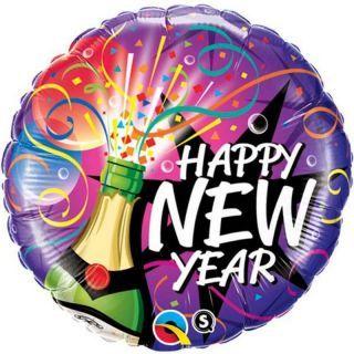 Folie 45 cm Happy New Year