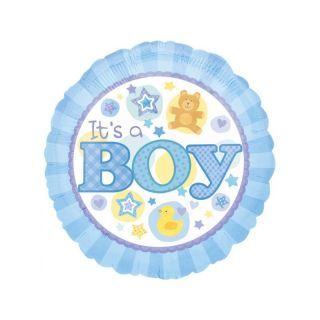 Balon Folie 45 cm It's a Boy, Amscan