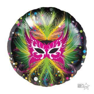 Balon Folie 45 cm Masca Carnaval - Northstar Balloons