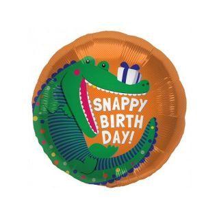 Balon Folie 45 cm Snappy Birthday, Northstar Balloons