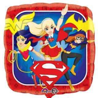 Balon Folie 45 cm Super Hero Girls, Amscan