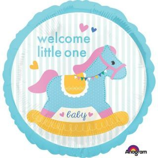 Balon Folie 45 cm - Welcome Little One - Amscan