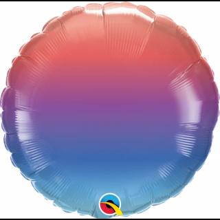 Balon Folie 45 cm Winter Ombre, Qualatex