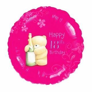 Balon folie 45cm 18th Happy Birthday, Amscan